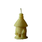 Royal Borough Honey Co Bees Wax Candle Skep Bee Hive